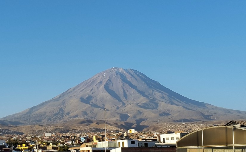 Arequipa, la ciudad de losvolcanes